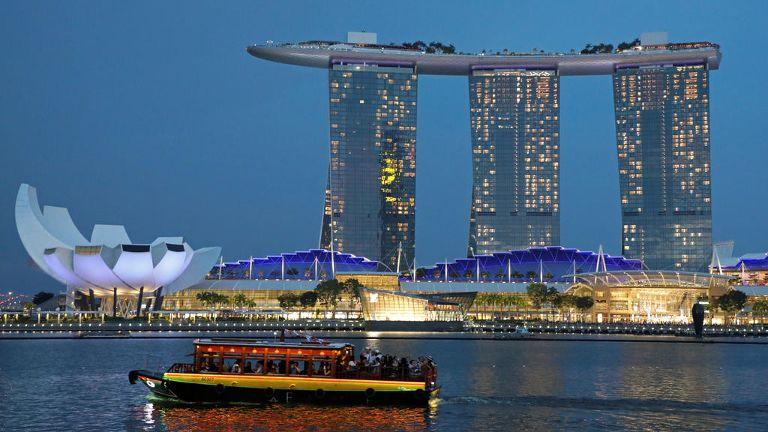 Marina Bay Sands closure